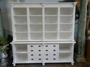 12564 Verkaufsschrank Ladenschrank Ladenregal Celine Weiß 2,50 m