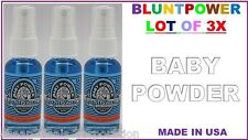 BluntPower 100% Concentrated Oil Base Air Freshener Blunt Power BABY POWDER (3X)