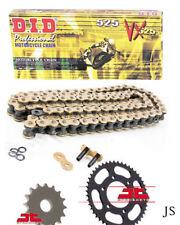 Yamaha YZF-R6 13S,1JS,2CX 2006-2018 DID VX Gold X-Ring Chain & Sprocket Kit