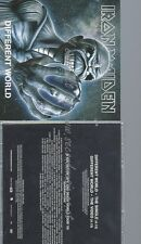PROMO CD--IRON MAIDEN --DIFFERENT WORLD --CD+ DVD