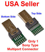 Sony Multiport Connector, 1 pc. Male Connections, 15 pin plug - USA Seller