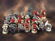 Warhammer 40k Space Marines tacticals mit Captain einige Black Reach