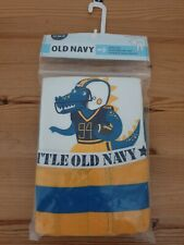 Old Navy Boys Blue and Yellow Stripes Pajama Set, Size: 5T