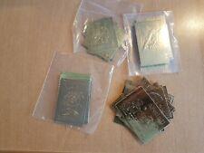 Yemen, Sharjah, Fujeira, Ras Al Khaima - Collection of gold foil stamps. MNH.
