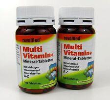 2 X 100 Multi Vitamin Mineral-tabletten RevoMed Multivitamin Mineraltabletten