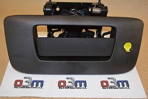 Chevrolet Silverado GMC Sierra Rear Locking TailGate Latch Handle /Bezel new OEM