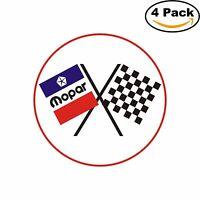Mopar Racing Vintage Decal Diecut Sticker 4 Stickers