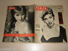 REALTA=1955/47=KIM NOVAK=HELENE PORTELLO=STELLA AZZURRA ROMA BENELLI PESARO=
