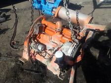 John Deere 4239df Diesel Engine Runs Exc Video 4239 Tractor Backhoe 310 300a