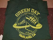 Green Day Converse Oakland Ca. Est. 1987 T-Shirt Men's L Large 100% Cotton
