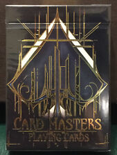 Card Masters Playing Cards by De'vo Gold Gilded Gold Seal