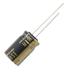 "Nichicon ""Muse"" UKZ Audio Grade Radial Electrolytic Capacitor, 47uF @ 100VDC"
