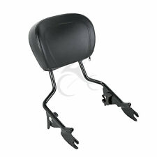 Sissy Bar Passenger Backrest For Harley Touring Street Glide Road King 09-17 10