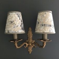Ralph Lauren - Small Handmade Candle Clip Lampshade for Wall Lights/Chandelier