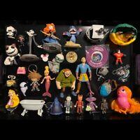 Lot of Disney Toys Dolls keychains Funko Rapunzel Jack Sora Incredibles Infinity