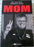 "SIGNÉ * HELLS ANGELS NOMADS / Maurice ""MOM"" Boucher  RARE BIKERS TRUE CRIME BOOK"