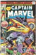 Captain Marvel Comic Book #47 Marvel Comics 1976 VERY GOOD