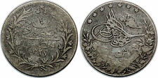 EGYPTE 5 QIRISH ARGENT 1327/4 1911  KM#308