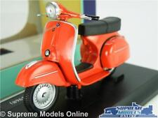 VESPA GTR 1968 MODEL SCOOTER BIKE 1:18 SCALE RED MOPED MAISTO K8