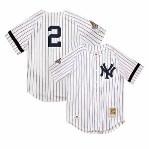 1996 Derek Jeter New York Yankees Mitchell Ness Cooperstown MLB Authentic Jersey