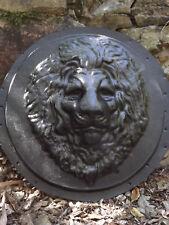 Large Lion Face Round Plaque Mould ... MOULDS 4 YOU ... #LP856