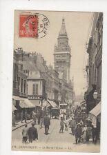Dunkerque Rue De l'Eglise France [LL 131] 1911 Postcard 906a