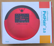 bobsweep PetHair robotic vacuum cleaner and mop color Rouge Awesome
