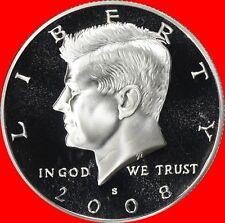 2008 S Clad Kennedy Half Dollar Deep Cameo Gem Proof