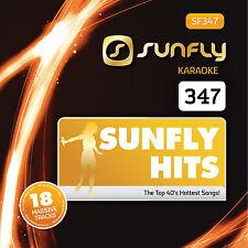 Sunfly Karaoke Hits 347 CDG Disc (SF347) - FREE UK POST. SAME DAY DISPATCH.