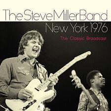 STEVE MILLER BAND New Sealed 2018 UNRELEASED LIVE 1976 NEW YORK CONCERT CD