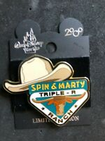 Disney WDW 2000 Spin & Marty Triple R Ranch Le 5000 Pin