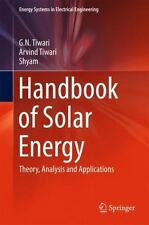 Energy Systems in Electrical Engineering: Handbook of Solar Energy : Theory,...