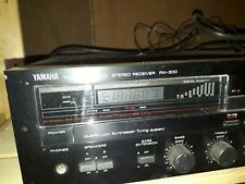 Yamaha AX-300 Amplificateur Amplifire Poweramp Stereo Hifi Verstärker + Boxen