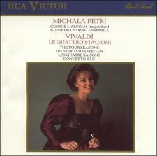 Four Seasons 1990 by Antonio Vivaldi; George Malcolm; Michala Petri; Guiildhall