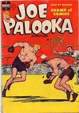 JOE PALOOKA #82 HTF Golden Age 1954