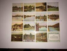 HILLS THE RIVER THAMES ( GREEN BACK ) 12 V GOOD CARDS