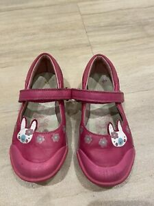 clarks girls shoes size 9h
