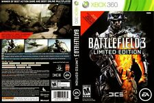 Battlefield 3 -- Limited Edition Microsoft Xbox 360 COMPLETE WHITE LABEL