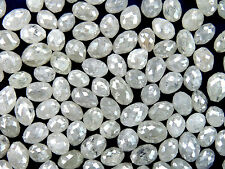 Natural Loose Diamond Fancy Ice Grey Color Drilling Egg I3 Clarity 1.00 Ct Q20