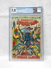 Marvel Comics Amazing Spider-Man #105 1972 CGC 7.0
