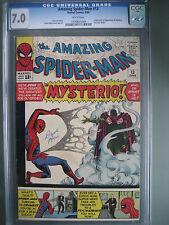 Amazing Spider-Man #13 CGC 7.0 WP **1st Mysterio** Marvel Comics 1964