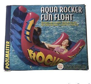 New Poolmaster Swimming Pool Aqua Rocker Fun Float Water Rocker Floating Lounger