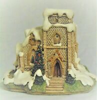 Lilliput Lane: St. Nicholas Church -  1990 - Box & Deed - Signed