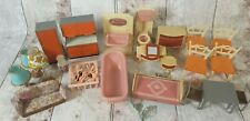 Vintage Made in W. Germany Assorted Dolls House Furniture 26 Pieces