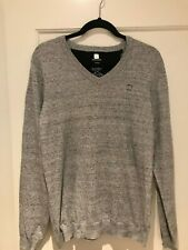 Diesel Men's Sweater - Heathered Gray - Size: Medium