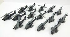 Tonka Funrise Army Attack Apache Helicopter Set Of 15 Hasbro Die Cast Special OP