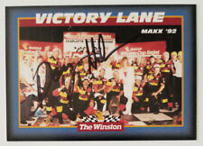 DAVEY ALLISON **AUTOGRAPHED** 1992 THE WINSTON ALL STAR WIN TRADING CARD