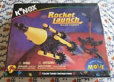 """K'Nex Rocket Launch - Builds 3 Models 58 Pieces Color Coded Instructions """"New"""""""