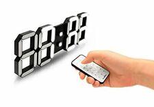 Flaito 3D LED Wall Clock Black [USA SELLER]