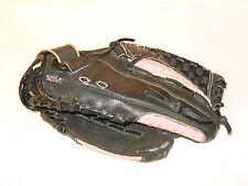 "MIZUNO Finch 11.5"" GPP 1155 Black/Pink Softball Glove Leather Right Hand Thrower"